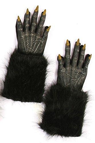 [Werewolf Gloves (Black)] (Black Werewolf Gloves)