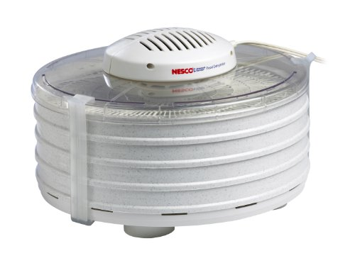 Nesco 4 Tray Food Dehydrator - Nesco FD-37A American Harvest Food Dehydrator, White, 400-watt - MADE IN USA