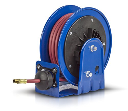 Coxreels LG-LP-320 Little Giant Series Hose Reel,Blue - 5 1/4in. x 10 5/8in. x 10 1/2in.,  3/8