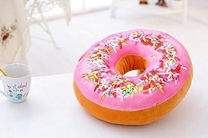 qingbaobao Donuts Cojín Peluches, Cojín Elevador para Sofá ...