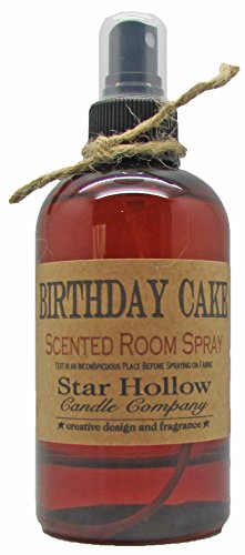 Star Hollow Candle Co Birthday Cake Room Spray, 8 oz (Spray Hollow)