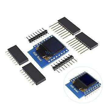 Mini 0 66 Inch 64X48 OLED Shield for WeMos D1 IIC/I2C