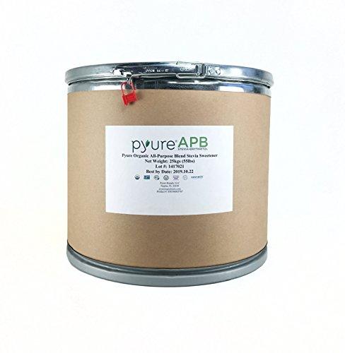 Pyure Organic All-Purpose Blend Stevia Sweetener, Bulk Sugar Substitute, 55 Pound