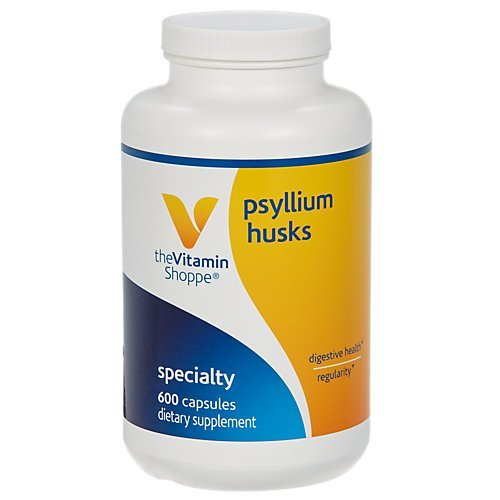 Vitamin Shoppe - Psyllium Husk, 600 capsules by Vitamin Shoppe