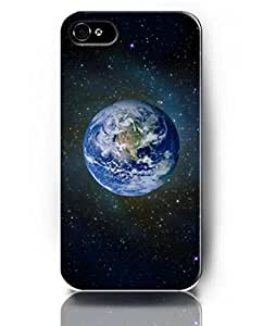 Cases for iPhone 4 4S, UKASE Phone Case Skins with Magic Heaven Pattern Print of Beautiful Earth