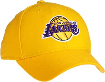 NBA Los Angeles Lakers Structured Flex Hat - Tx19Z, Large/X-Large, Team Color, Gold