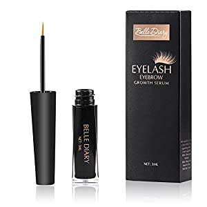 Belle Diary Eyelash Eyebrow Growth Serum ,Best Enhancer for Eyelash Growing ,Thickening and Strengthening Eyelash,Irritation-free Formula - 3ml