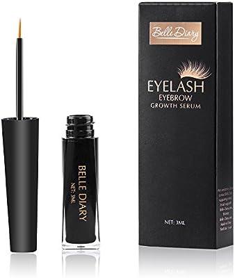 f4844505f81 Amazon.com: Belle Diary Eyelash Eyebrow Growth Serum,Best Enhancer for Eyelash  Growing,Thickening and Strengthening Eyelash,Irritation-free Formula - 3ml:  ...