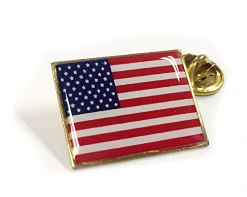 The BEST US Flag Lapel Pin-GREAT PRICE Made in America FLAG PIN Beautiful Detail (All Pin American)