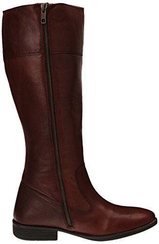 Kickers Roulotte - Botas de cuero mujer Rojo - Rouge (18 Bordeaux)