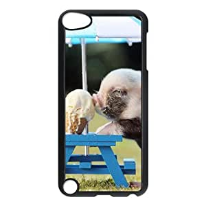 ADCASE Phone Case Of Pig Bumper Plastic Customized Case For Ipod Touch 5
