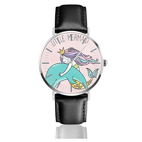 Dolphin Happy Birthday Mens Watches Fashion Simple Minimalist Waterproof Quartz Analog Watch Designer Luxury Business Classic Dress Wrist Watch