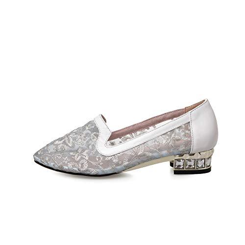 EU Silver Sandales 36 BalaMasa Femme 5 Argenté APL10962 Compensées 76gpxq8