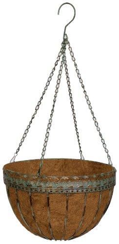 Metal Victorian Basket (Gardman Victorian Hanging Basket, 14