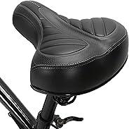 Bike Soft Bicycle Saddle Pad Shock Absorption Bicycle Saddle Cushion Soft Saddle for Mountain Bike Road BikeNi