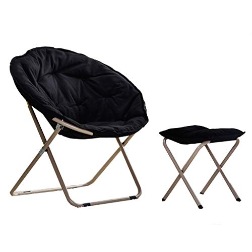 Amazon.com: Folding Chairs Outdoor Lazy Chair and Footstool ...