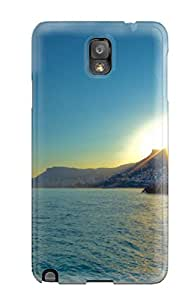 New Style Case Cover JUX-390cRTwjjmE Coastline Compatible With Galaxy Note 3 Protection Case
