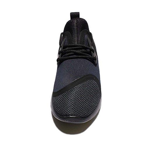 Uomo Nike Lunarcharge Essential, BLACk / DARK OBSIDIAN-VOLT, 12 M US