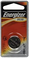 Energizer CR2032 Battery Lithium 2032 Button Cell 3V Coin Watch (Pack of 6)