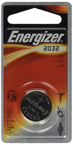 Energizer CR2032 Battery Lithium 2032 Button Cell 3V Coin Watch (Pack of 6) - Energizer 3v Lithium Battery