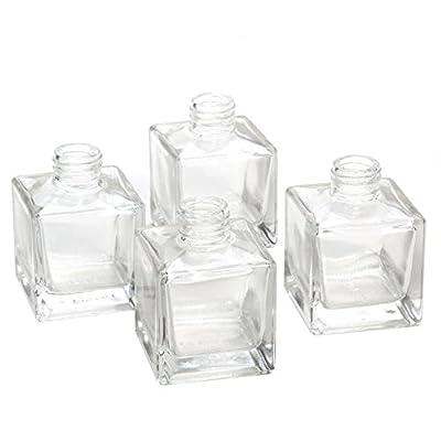 5163adbb8125 Hosley Set of 4 Glass Diffuser Bottles - 4