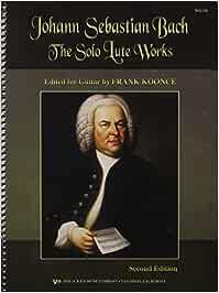 Johann Sebastian Bach: Solo Lute Works Arranged for Guitar - 9780849755019