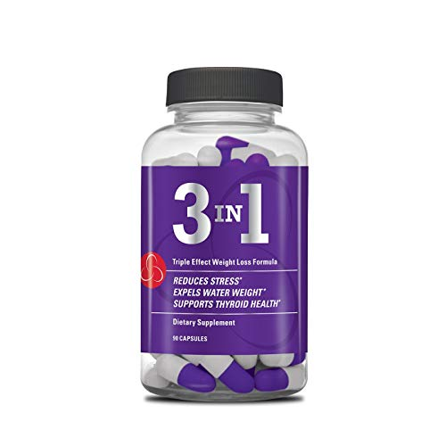 Complete Nutrition Envision 3-in-1 Triple Effect Weight Loss Formula, Daily Dietary Supplement, Reduce Stress, Metabolism Support, 90ct Capsules