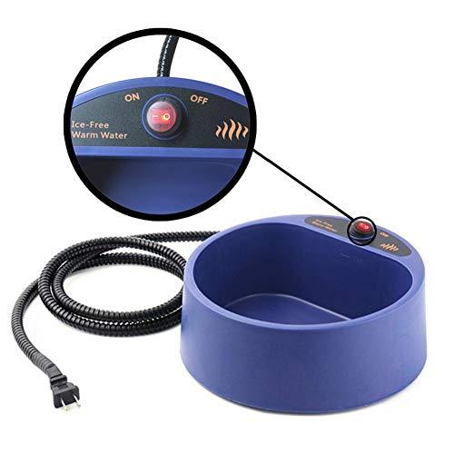 Tazón Térmico-tazón para Mascotas con Calefacción-tazón De Agua Eléctrico Al Aire Libre con Calefacción, con...