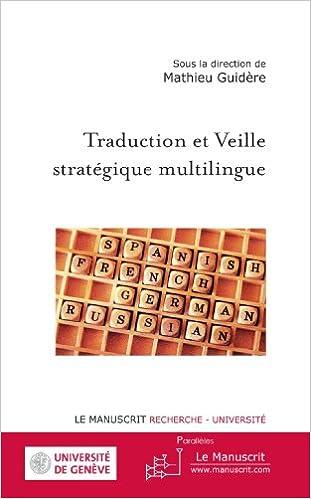 Livre Traduction et Veille stratégique multilingue pdf, epub ebook