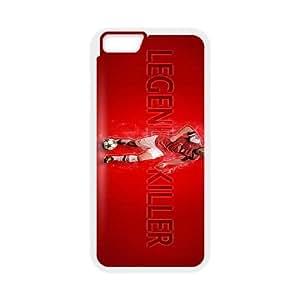 Arsenal Aaron Ramsey 2013 Wallpaper iPhone 6S 4.7 pulgadas del teléfono celular funda blanca del teléfono celular Funda Cubierta EEECBCAAH72060