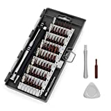 wynn's Precision Screwdriver Set, 63 in 1 Magnetic Small Screwdriver Kit with 57 S2 Steel Bits, Electronics Repair Tool Kit for iPhone, Cell Phone, Tablet, Macbook, Xbox, PC, Game Console, etc, Black