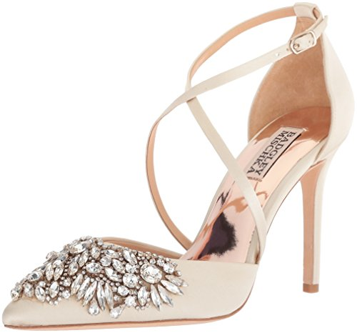 Badgley Badgley MischkaMP4213 Ivoire Femme Harlene MischkaMP4213 7pqxvadw