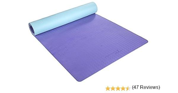 Timberbrother Esterilla de Yoga / Esterilla de TPE Respetuosa con el medio ambiente para Pilates, Gimnasio, Yoga, Ejercicio / Medidas: 183cm x 61cm x ...