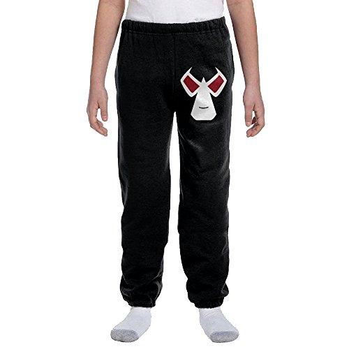 Jackson Halloween Cosplay Mask Logo Youth Slim Fit Jogger Sweatpant Pants (Halloween Costumes Seattle)