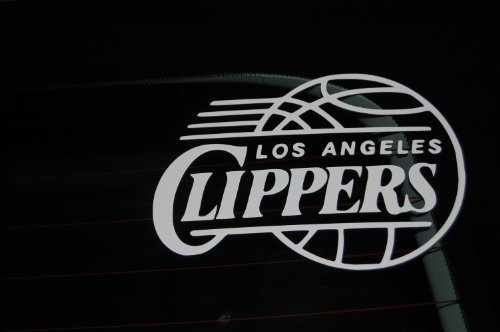 Los Angeles Clippers Decal - Automobile Window Decal 7