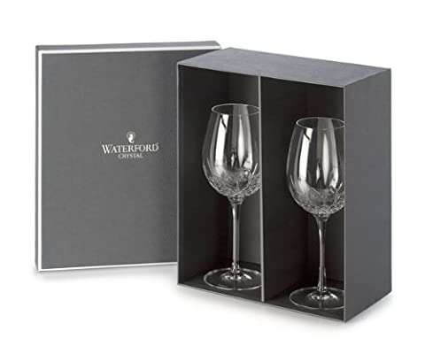Waterford Crystal Lismore Essence Red Wine Goblet, Set of 2