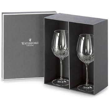 john rocha waterford crystal wine glasses black essence red goblet set lismore