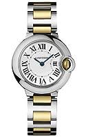 Cartier Women's W69007Z3 Ballon Bleu Stainless Steel and 18K Gold Watch by Cartier