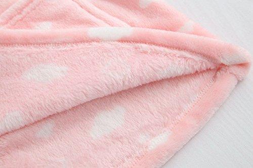 Flanella Incinte Donna Donne E l'allattamento al seno L'allattamento al seno addensare veste, Bello Maniche lunghe Pigiama Set Nuvole rosa
