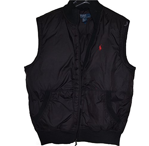 Polo Ralph Lauren Men's Down Vest Jacket Black ()