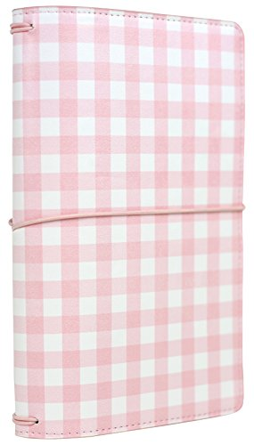 Echo Park Paper Company Travelers Notebook Pink Gingham