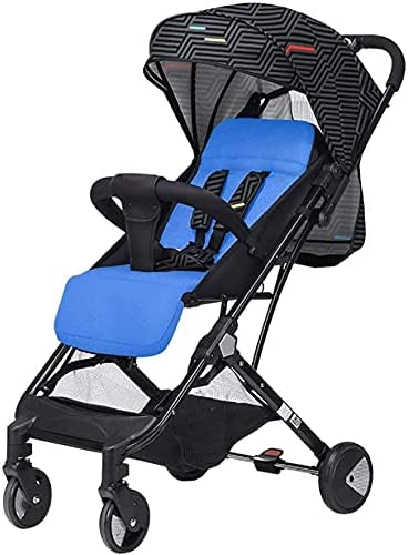 JYMBK The Baby Stroller Can Sit On The Lap of The Ultra-Light Portable High View Folding Variable Pull Rod Box Stroller.