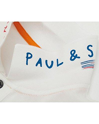 Paul & Shark Manica corta Polo Shirt White XXX Large