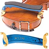 Kun Original Mini Blue Shoulder Rest for 1/8 - 1/4 Violin