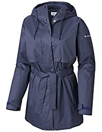 Columbia Women's 2019 Pardon My Trench Rain Jacket, Breathable, Lightweight