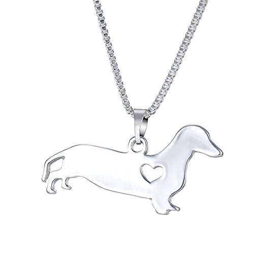 klace Sausage Dog Pet Jewelry Mother's Day Gift ()