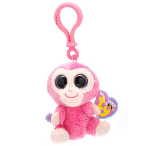 (Ty Beanie Boos - Razberry-Clip the Monkey)