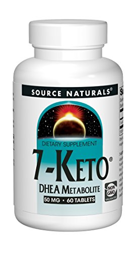 Source Naturals 7-Keto 50mg DHEA Metabolite - 60 Tablets ()