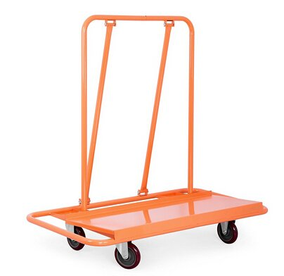 TOTOOL-Drywall-Cart-Professional-Handling-Drywall-Sheet-Cart-with-Two-Fixed-and-Two-Swivel-Casters
