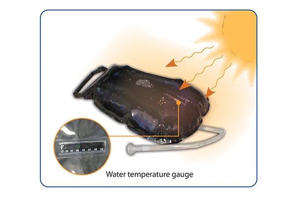 ADVANCED ELEMENTS 2.5 Gallon Summer Shower/Solar Shower
